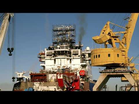 Промежуточный видеоотчет | Выборгский судостроительный завод (март)