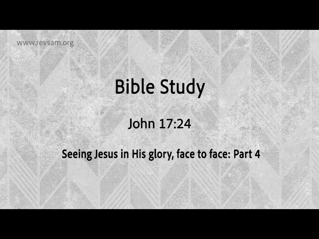Seeing Jesus in His glory, face to face (Part-4) | Jeevan Chelladurai | Tuesday Service | AFT Church
