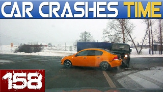 Dash Cam Accidents Compilation - Best of the Week - Episode #158 HD