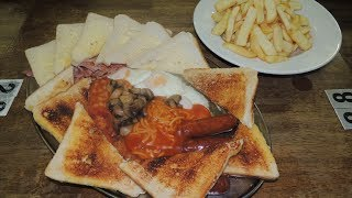 BEAST Breakfast Challenge Uplands Diner's WELSH Fry Up | Randy Santel