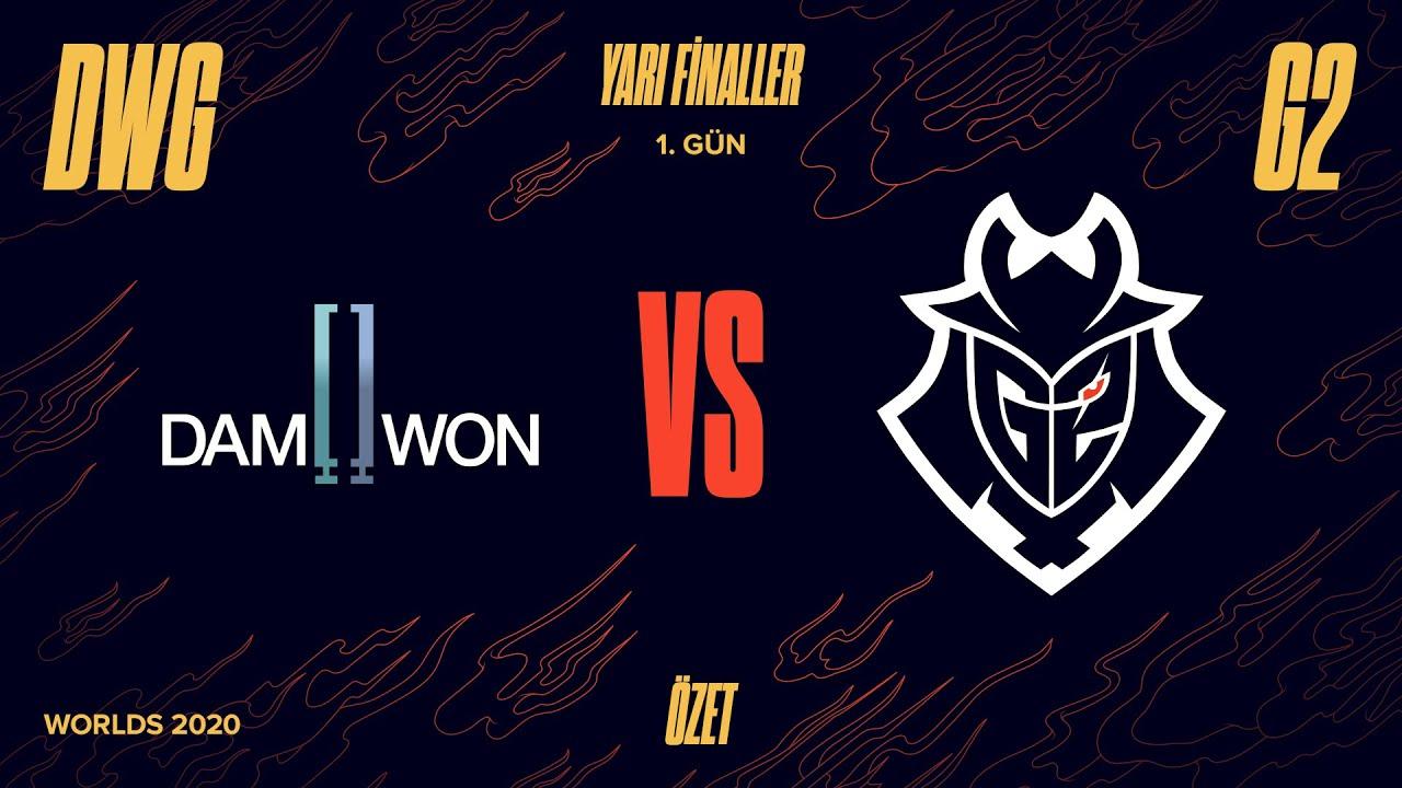 Download DAMWON Gaming ( DWG ) vs G2 Esports ( G2 ) 4. Maç Özeti - Worlds 2020 Yarı Final