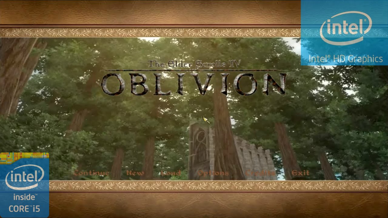 The Elder Scrolls IV: Oblivion on Intel HD 4400
