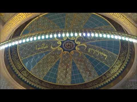 Chechnya: Hi tech Mosque in Argun チェチェン共和国:アルガンのハイテク・モスク