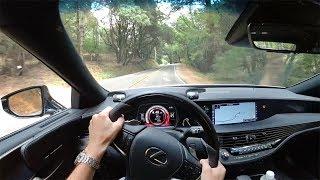 2018 Lexus LS 500 RWD Executive Package - POV First Impressions (Binaural Audio)
