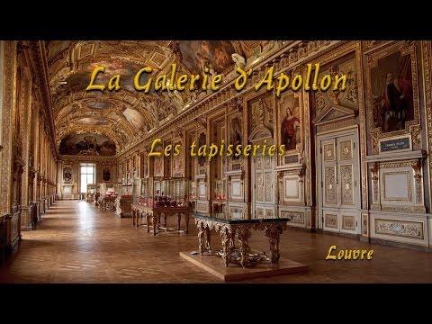 Les tapisseries de la Galerie Apollon au Louvre