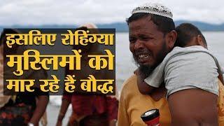 म्यांमार में रोहिंग्या मुस्लिमों के नरसंहार के पीछे गाय की कुर्बानी है! | The Lallantop