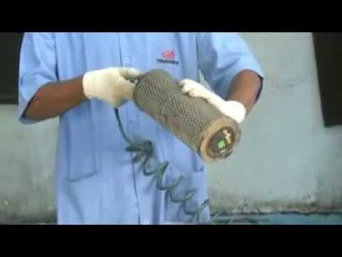 how to changing and  cleaning  of air filter of  mahindra scorpio ,xuv500 ,rexton,bolero.