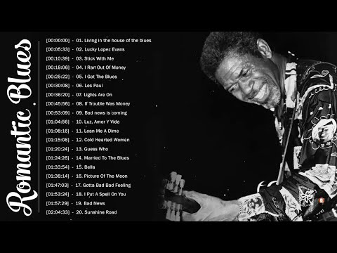 Romantic Blues Music ♪ Best Blues Music Collection