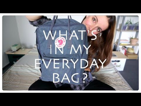 What's in my bag? | Minimalism & zero/low waste