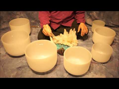Note E Crystal Bowl Meditation~(10 min.)