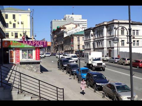 От Серой лошади до пл.   Семёновская . Владивосток
