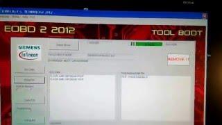 Read ecu Sagem s2000rptm with galletto v54 Boot mode2