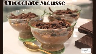 Chocolate Mousse   How To Make Chocolate Mousse Christmas Desserts   Simply Jain