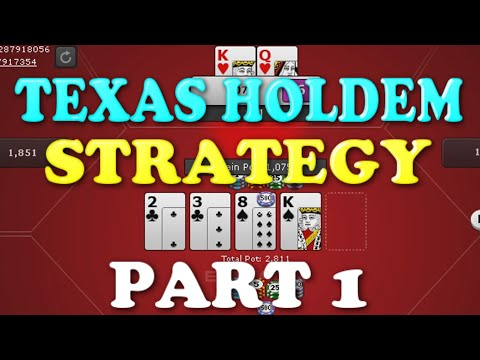 Texas Holdem Strategy Real Cash | Online Poker Tips Part 1 | Double Up