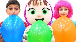 Nastya and story about Balloon Song! Nursery Rhymes Songs for kids