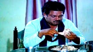 Chinna Kodalu Movie    Dharmavarapu Subramanyam Eating Funny Comedy Scene    Suresh,Vani