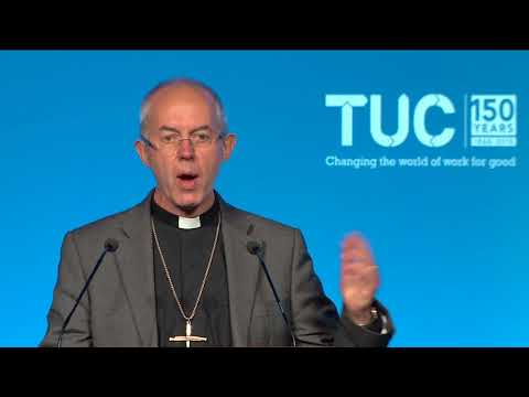 Archbishop of Canterbury, Justin Welby speech to Congress 2018