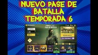 VEAMOS EL NUEVO PASE DE BATALLA TEMPORADA 6 CALL OF DUTY MOBILE