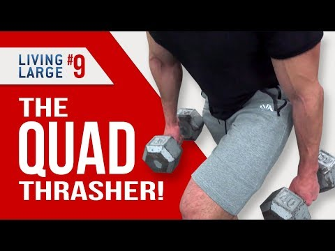 4 Intense Leg Exercises FOR MEN! (QUAD and CALVES WORKOUTS)