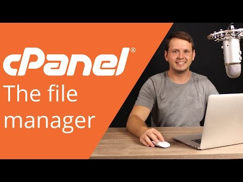 cPanel beginner tutorial 3 – managing files in the file manager