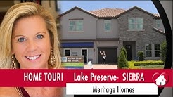 New Homes Orlando near Lake Nona and Medical City!  Sierra by Meritage at Lake Preserve!