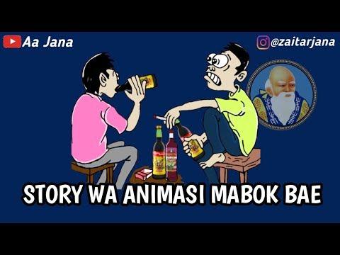 Story WA Animasi Mabok Bae..