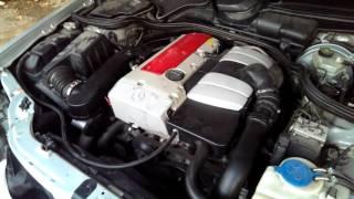 Mercedes w210 m111 kompressor Утренний запуск двигателя(, 2015-11-27T05:14:58.000Z)