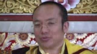 Tibetan Buddhism Mahamudra teaching day 1 part 4 of 7