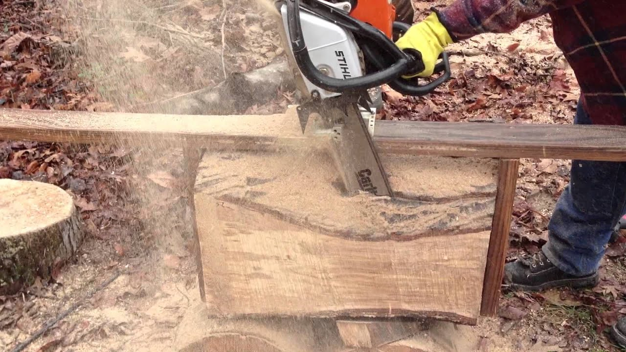 chainsaw beam machine
