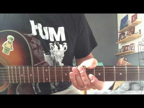 Dirty Heads - Oxygen - Guitar Tutorial