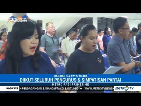 DPW Partai NasDem Sulut Gelar Ibadah Pranatal