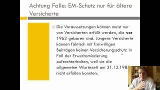 Selbständige in der Deutschen Rentenversicherung