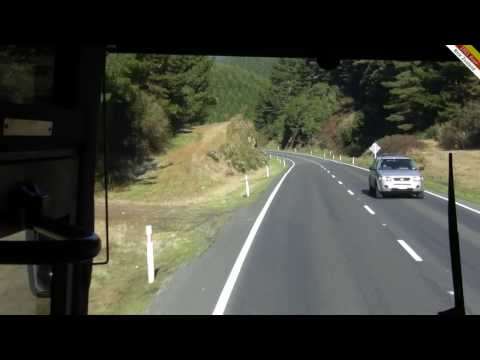 Intercity bus from