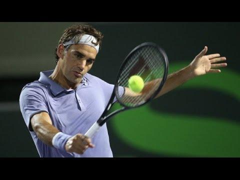 Federer - Miami 2014