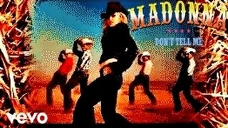 """MADONNA - """"Don'T Tell Me"""" [OFFICIAL MUSIC VIDEO CLIP HD]"""