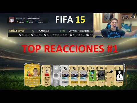 FIFA 15 | TOP Reacciones Pack Opening EP.1 | Ultimate Team | DjMaRiiO
