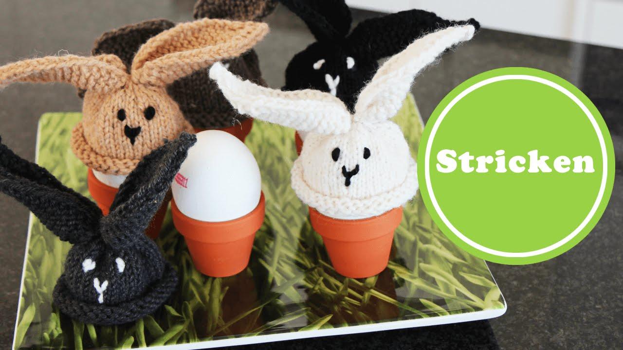 Häschen Eierwärmer Stricken Für Anfänger Ostern Anleitung