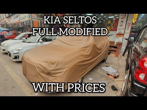 KIA SELTOS FULL MODIFIED WITH PRICES