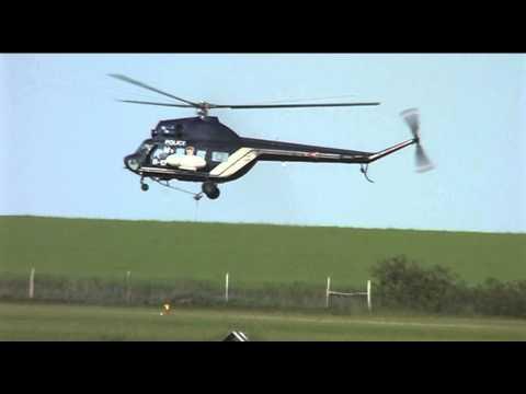 Hungarian Air Police training week at Siófok-Kiliti airfield