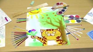 'Из чего сделаны краски?'  - мультфильм для детей