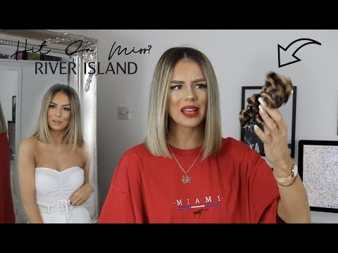 HIT OR MISS? RIVER ISLAND STYLING TRY ON HAUL | LABELS ARE FOR CLOTHES