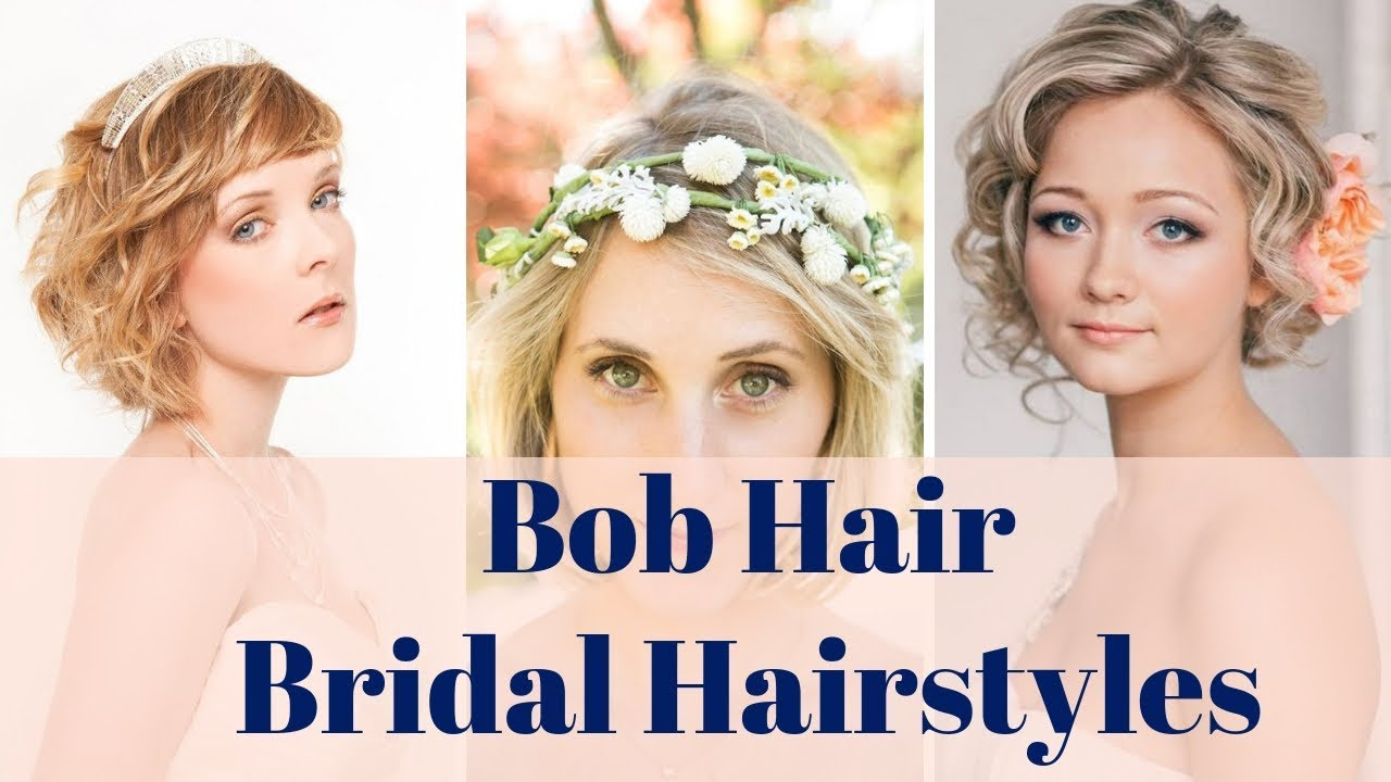 bob hair bridal hairstyles - 100+ bride wedding bob hair styles ideas