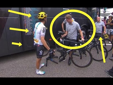 Mikel Landa Fighting With Team Sky DS Over Stage 12 Tour De France Team Tactics