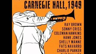Fats Navarro Quartet at Carnegie Hall - The Things We Did Last Summer