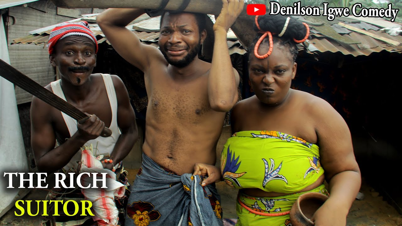 Download Denilson Igwe Comedy - The rich suitor