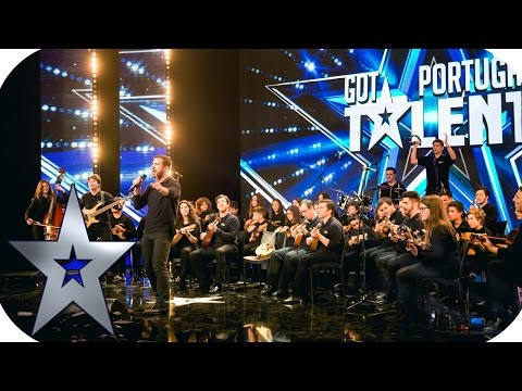 Orquestra Popular Sopro de Cordas | Audições PGM 02 | Got Talent Portugal 2017