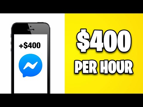 GET PAID $400 PER HOUR FROM FACEBOOK MESSENGER [Make Money Online]
