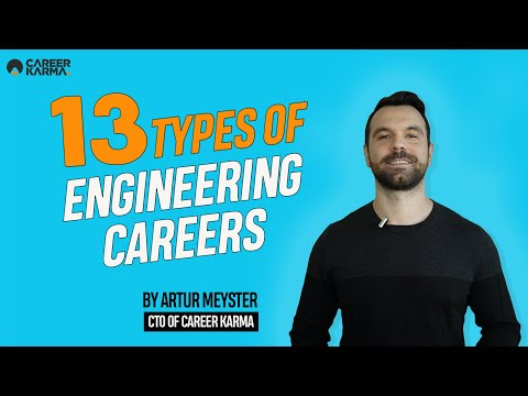 13 Types Of Of Engineering Careers By Artur Meyster, CTO Of #CareerKarma
