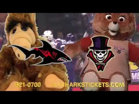 JACKSONVILLE SHARKS 80'S NIGHT COMMERCIAL PNK Video Productions