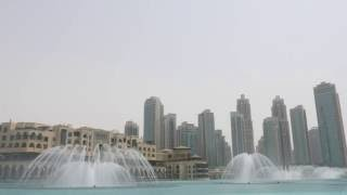 The Dubai Fountain: Wen Bie/Goodbye Kiss (Jacky Cheung)